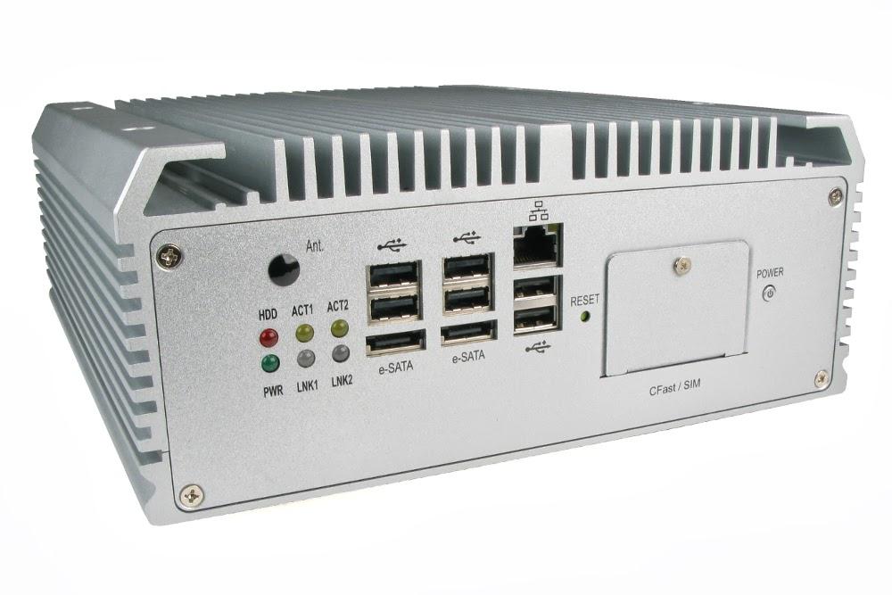 LGX AU970 - przemys�owy komputer z Core i7, 4 portami RS232 i 2 portami RJ45