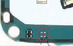 Nokia 6300 - Zerwany dławik i piny od mikrofonu.