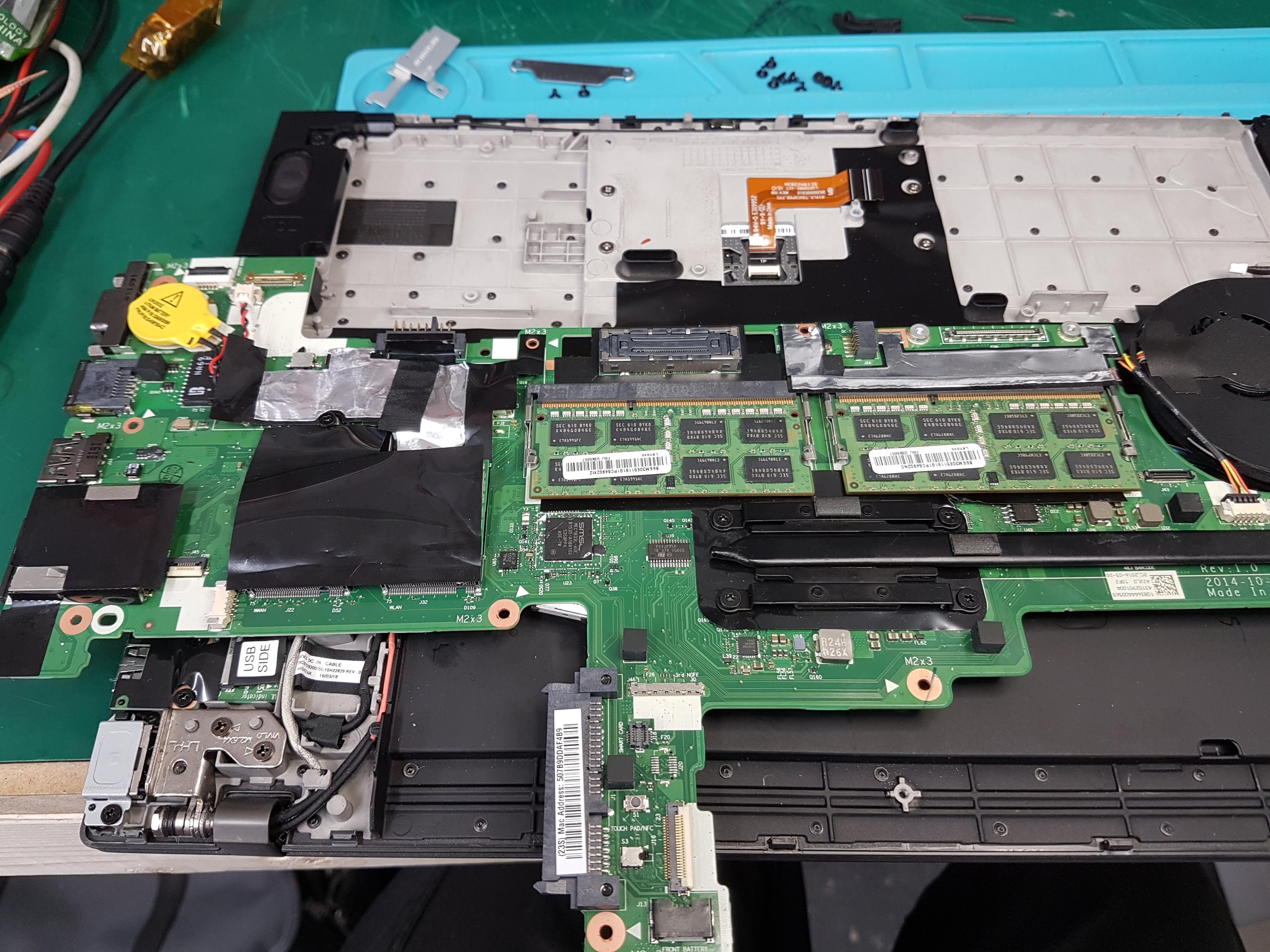 Lenovo T450 - bios password - elektroda pl