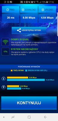 T-mobile internet domowy - słaby przesył