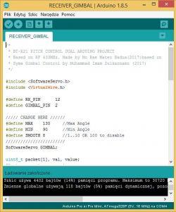 Programowanie płytki Arduino pro mini
