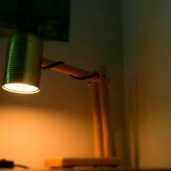 Lampka biurkowa DIY. Koszt 40zł