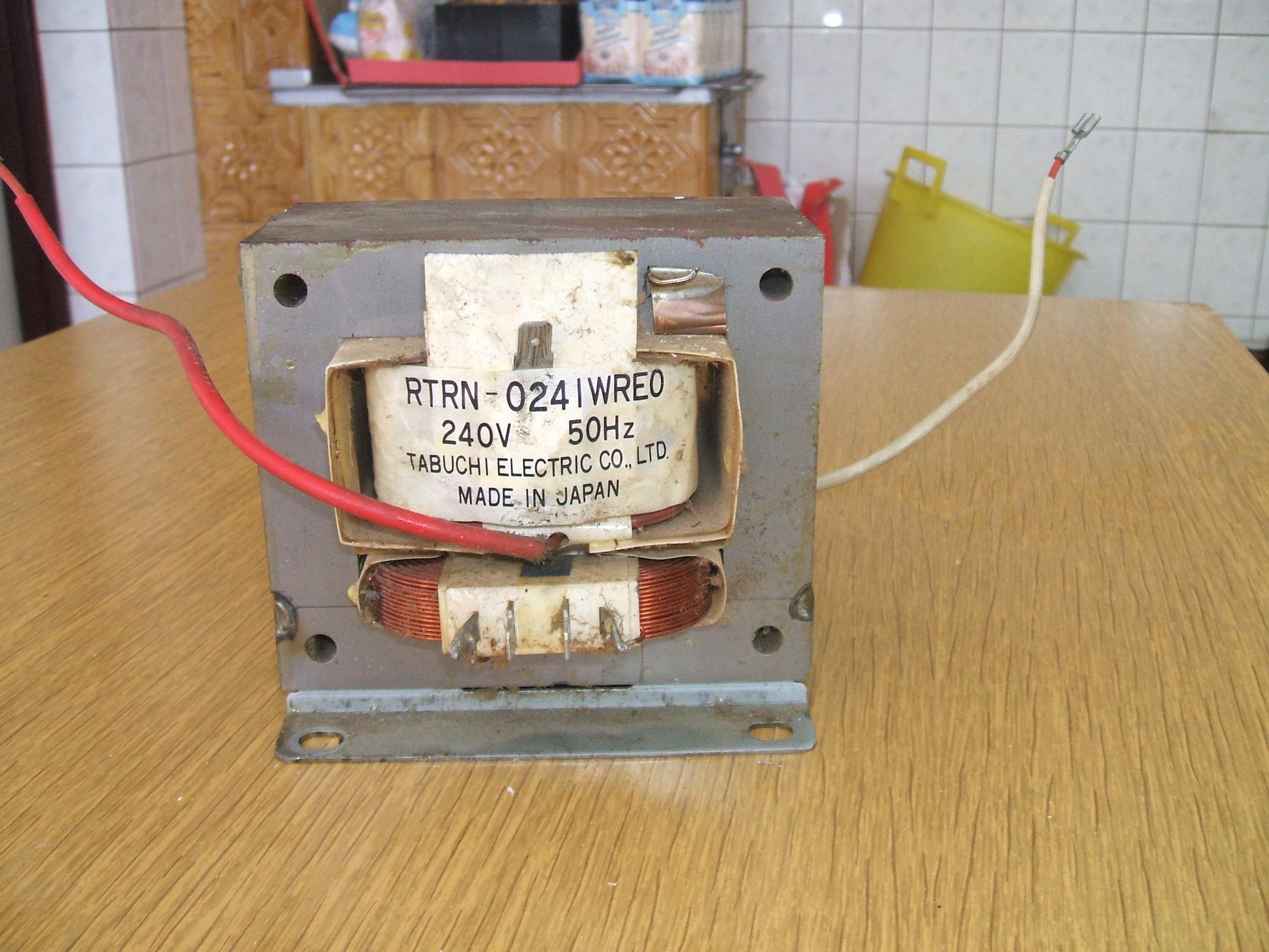 [Sprzedam] Sprzedam transformator z mikrofali