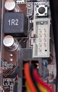 Wyprowadzenia �ledzia RS-232 schemat