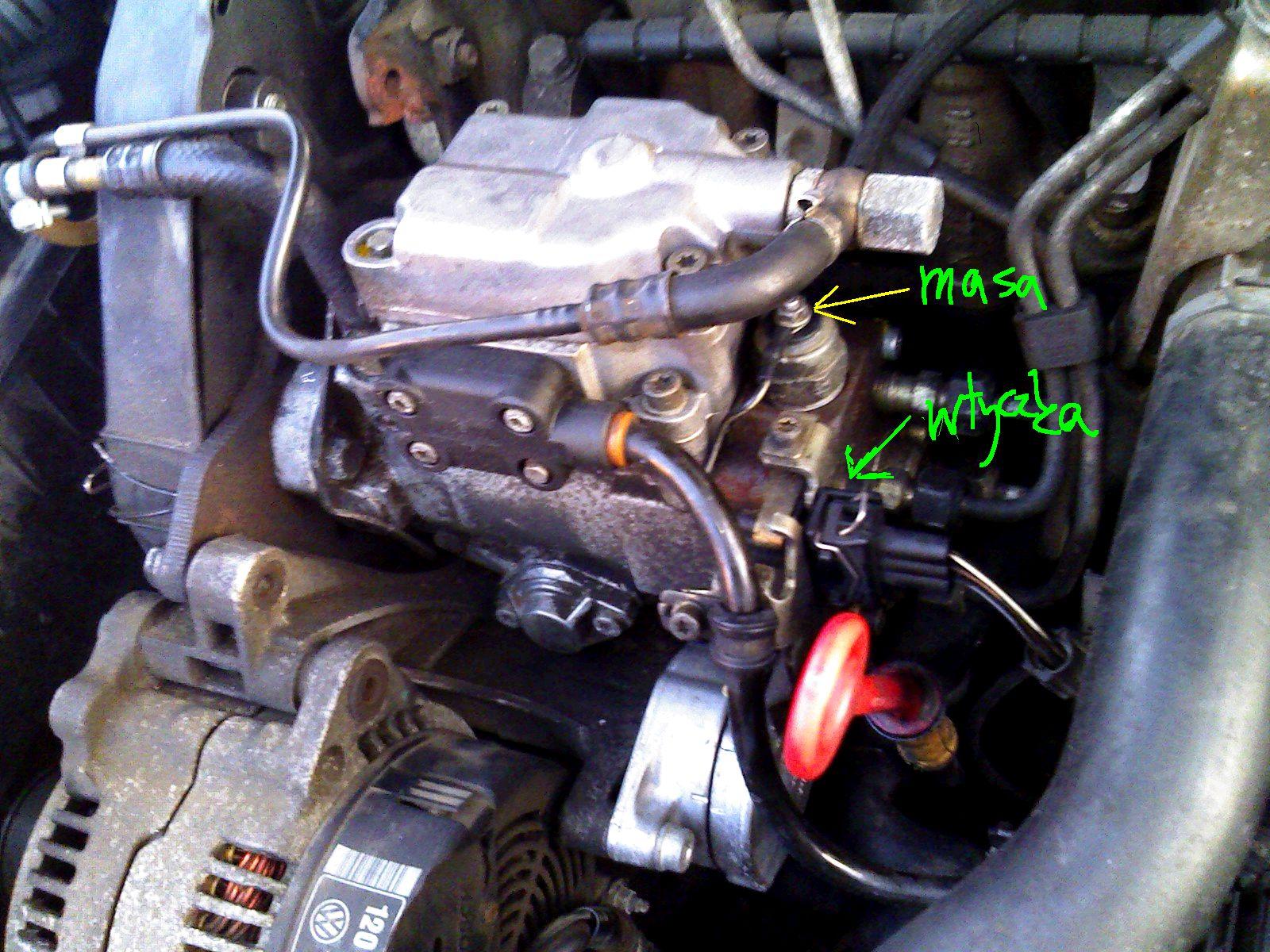 VW Passat B4 - nie odpala.