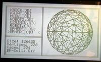 ATmega128 - przeglądarka modeli 3D