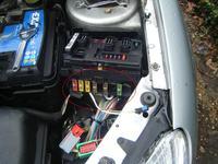 Peugeot 206  -  nie dziala polowa elektryki