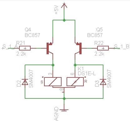 STM32 - Sterowanie przeka�nikiem bistabilnym