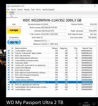 """Stan dysku """"UWAGA"""" dla dysków WD My Passport Ultra 2TB i Wireless 2TB"""