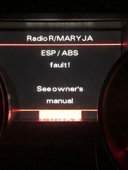 Audi A8 D3 3.0 TDI - Problem z odpaleniem brak połączenia ecu
