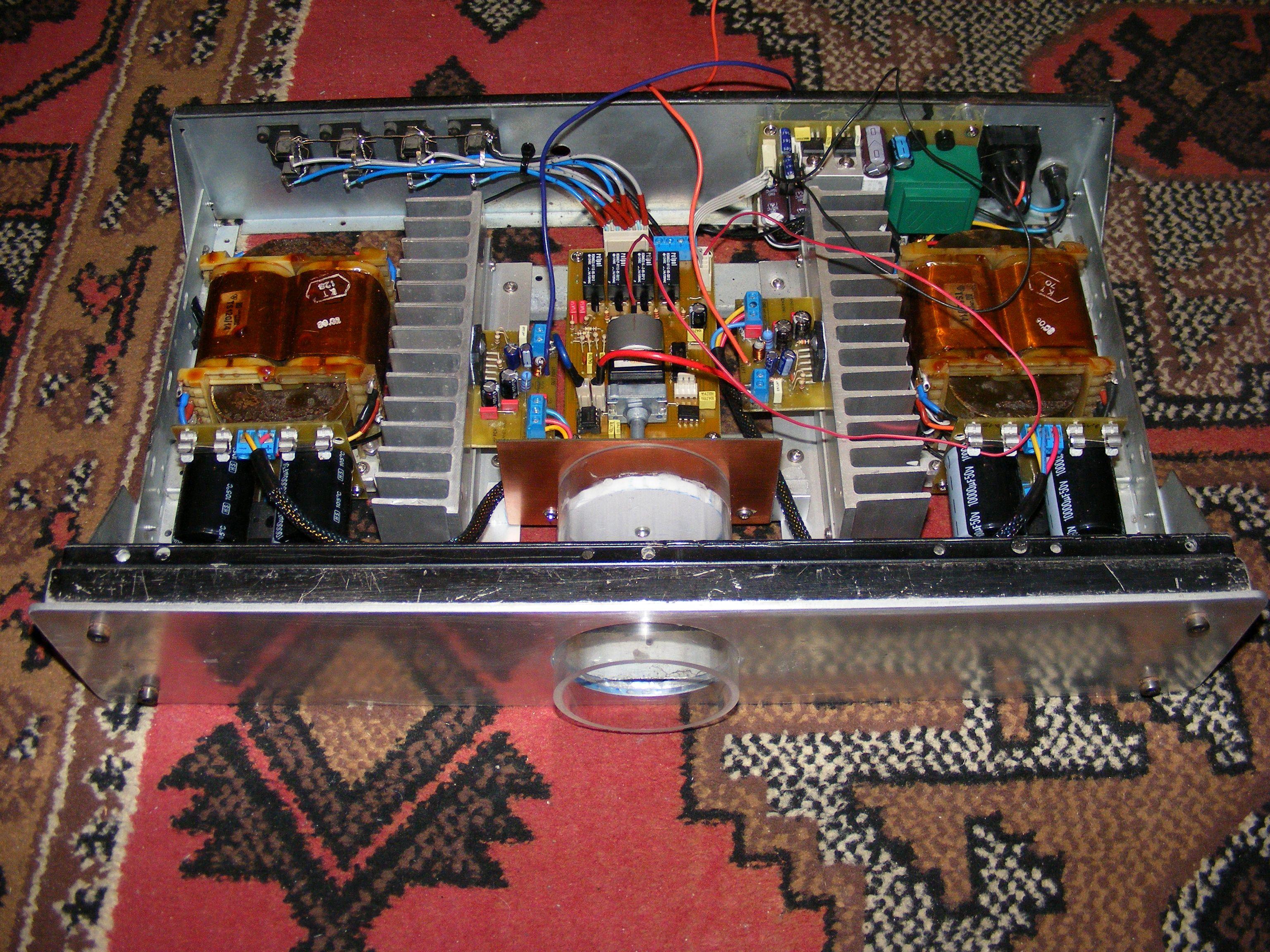 Kolejny wzmacniacz na LM3886 Stereo