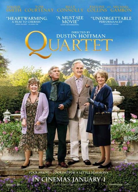 Kwartet / Quartet (2012) BluRay.720p.DTS.x264-CHD