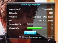 Słaby sygnał DVB-T - mazowieckie