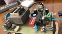 Sterownik oświetlenia z czujnikiem ultradźwiękowym plus RC5