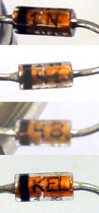 Dioda 1N4148 ? - Prośba o zidentyfikowanie diody