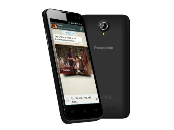 Panasonic T41 - 4.5-calowy smartfon z czterordzeniowym procesorem za ok. 410PLN.