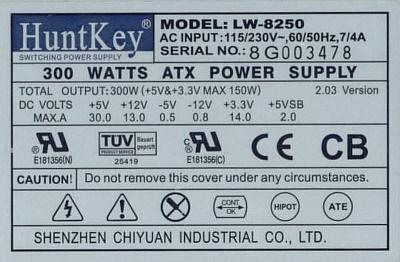 HuntKey model: LW-8250 zamienniki dla tranzystorów Q100, Q101 ?