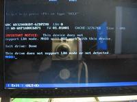 Odblokowanie zablokowanego dysku WD3200BUDT-62DPZY0