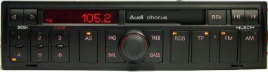 """Audi Chorus """"Blaupun - wej�cie AUX za ma�o przycisk�w ?"""