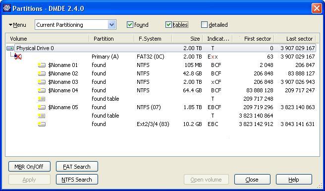 Uszkodzony MBR, tablica partycji, ST2000DL003 - update do��czona analiza