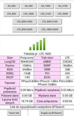 T-Mobile Internet Domowy(do 60Mb/s) dobór anteny zewn.