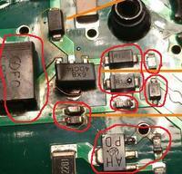 3302 opornik? Yongnuo 600EX-RT lampa błyskowa - uszkodzenie.