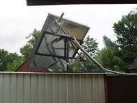 Obrotowy kolektor słoneczny.