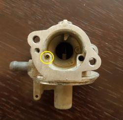 Silnik B&S - Uszczelka iglicy