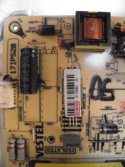 Toshiba - Toshiba 48U7653DB uszkodzony Vestel 17IPS20 - zastępca