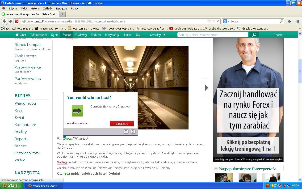 Wyskakuj�ce okienka w Mozilli i IE