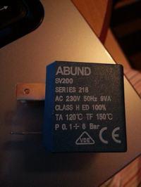 naprawa zelazka czesc abund  sv200 series 218