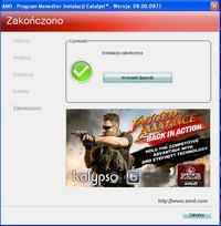 ASRock K7S8X, Radeon HD 3600 series - instalacja sterowników grafiki pod Win XP