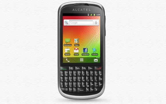 Alcatel OT-915 - smartphone z klawiatur� QWERTY i Android 2.3