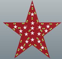 Charlieplexing Christmas Star with Atmag8