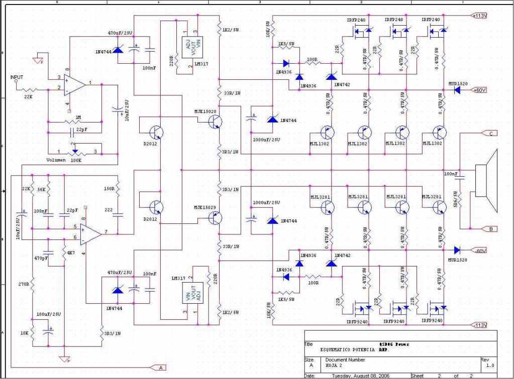 Wzmacniacze mocy audio - zdj�cia, dane techniczne.
