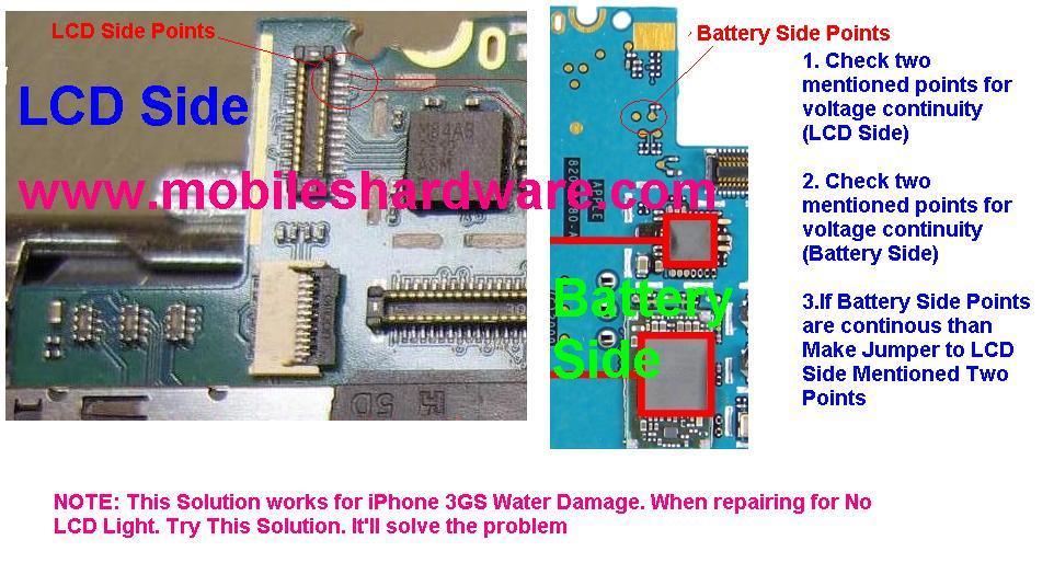 iPhone 3 cewka 6r8 a pole lutownicze