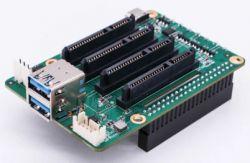 DUAL/QUAD SATA HAT - nakładka HAT z 2/4 portami SATA dla Raspberry Pi 4, Rock Pi