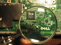 Dell Studio 1737 - Nie wstaje, widoczne wcze�niejsze dzia�ania na p�ycie