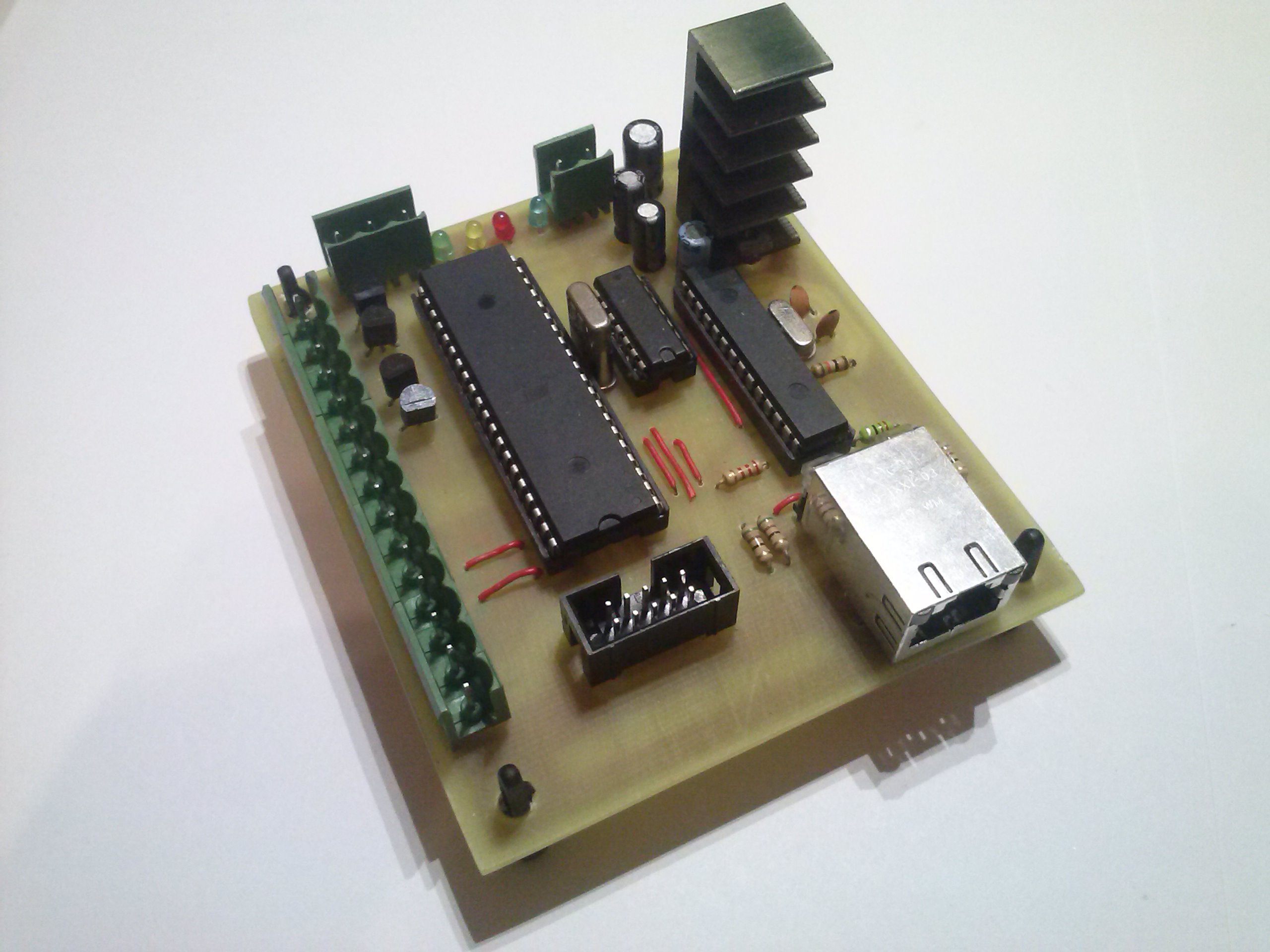 AVR NET CONTROLLER - domowy sterownik ethernetowy