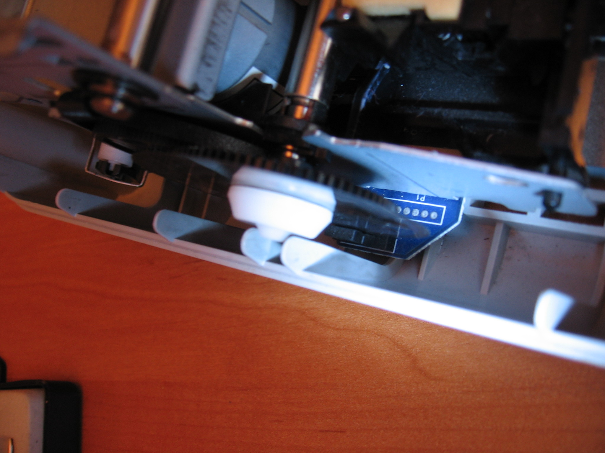 Pod��czenie enkodera z drukarki HP1310