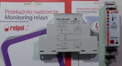 Przekaźniki nadzorcze instalacyjne od Relpol - test, recenzja
