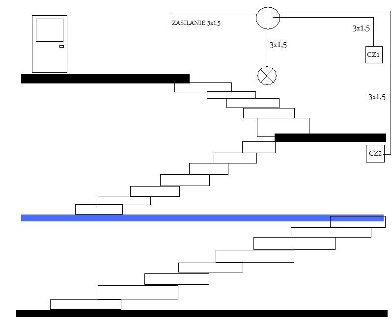 O�wietlenie na klatce schodowej