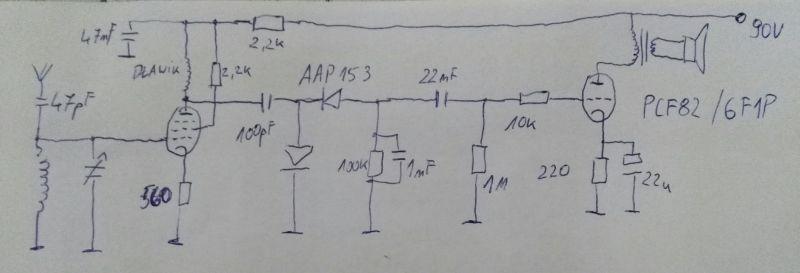 Jednoobwodówka na PCF82, proszę o rady i sugestie
