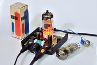 Hybrydowy wzmacniacz słuchawkowy na 12AU7 i JRC4556.