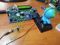 AVR WAV PLAYER - z wyświetlaczem LCD i obsługą klawiszy