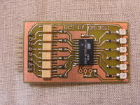[Bascom] Atmega128 multipleks LED i RC5