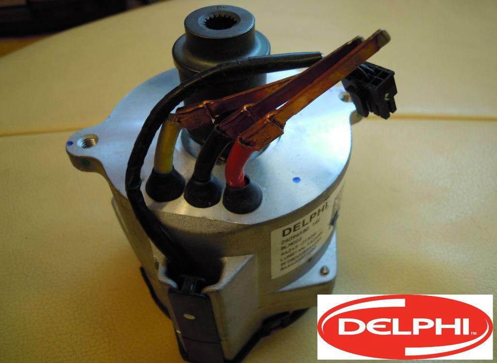 BLM022 Delphi - Parametry silnika BLDC