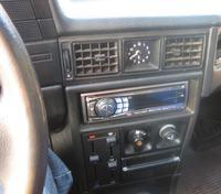 Opel Kadett (panele, zabudowa wzmacniacza)