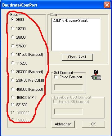 Zmiana softu w telefonach Siemens (flashowanie SWUP-em)