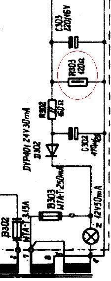 unitra Pw7020 spalone 2 kanały, jakie wartości rezystorów?